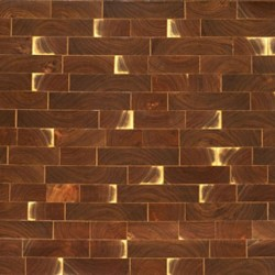 Endgrain Walnut Tiles Parquet
