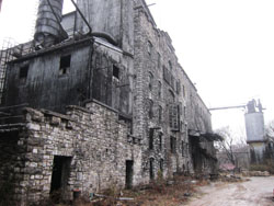 Old Crow Distillery Reclaimed