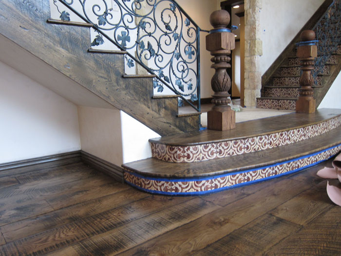 Reclaimed Wood Stairs Stair Parts Reclaimedfloors