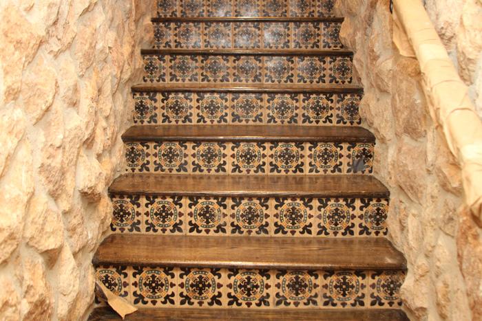 Reclaimed Ipe Stairs