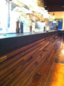 Wildwood Restaraunt with Reclaimed Douglas Fir paneling