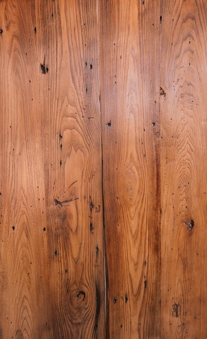 Reclaimed Chestnut Planed Oil Finish