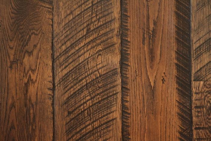 Reclaimed Oak Stained Ebony