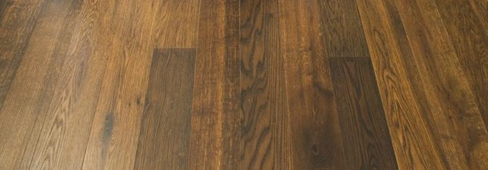 Wide Wood Euro Oak Antique Brown