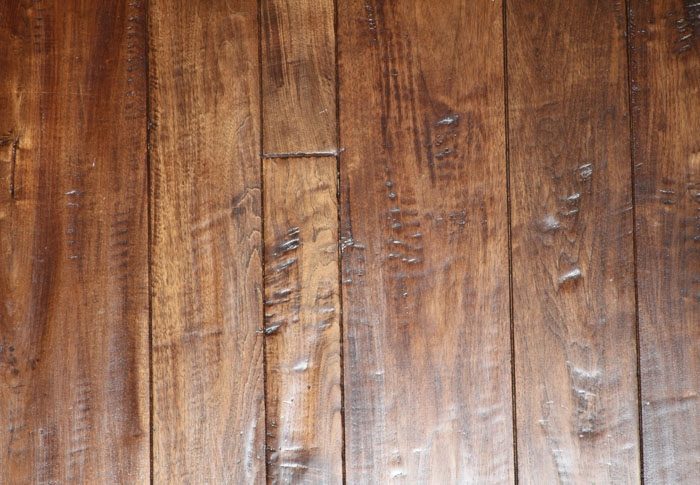 Antique Hardwood Flooring 12 x 5 antique click strand distressed bamboo Walnut Antique Brown